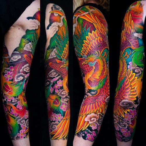 Японская Татуировка Рукав. Japanese Tattoo. Bardadim