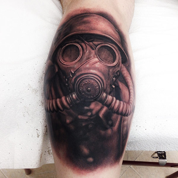 Реалистичная татуировка. realistic tattoo