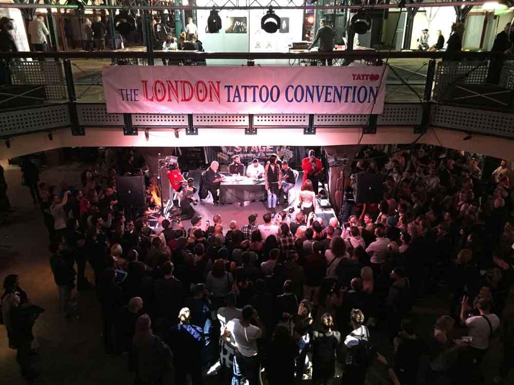 Тату Конвенция в Лондоне