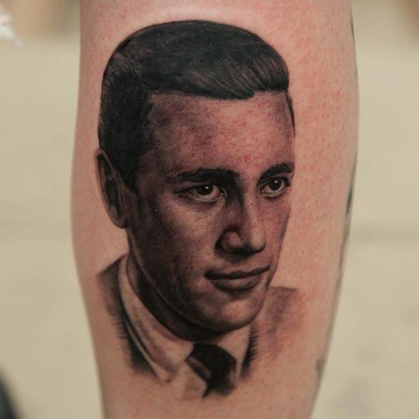 Реалистичная татуировка. realistic tattoo. George Bardadim Tattoo