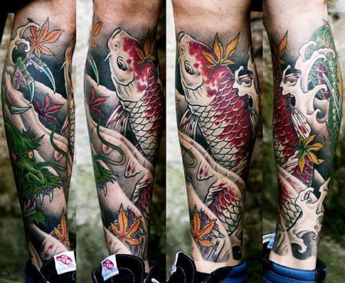 Японская Татуировка. Japanese Tattoo. Bardadim